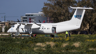 9H-AFD - Bombardier Dash 8-Q311 - United Nations (Medavia)