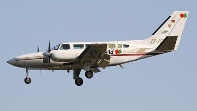 A picture of DICRF - Cessna 404 Titan Courier - [4040406] - © Alessandro Garau