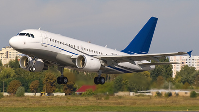 OE-ICE - Airbus A318-112(CJ) Elite - JetAlliance