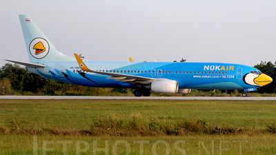 HS-DBD - Boeing 737-8AS - Nok Air
