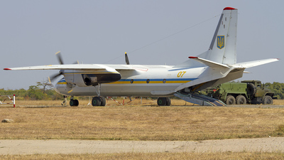 07 - Antonov An-26 - Ukraine - Air Force