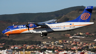 EC-LKK - ATR 72-212 - Islas Airways