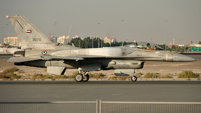 3070 - General Dynamics F-16E Fighting Falcon - United Arab Emirates - Air Force