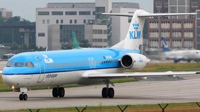 PH-OFD - Fokker 100 - KLM CityHopper
