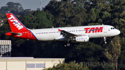 PT-MZO - Airbus A320-231 - TAM Linhas Aéreas