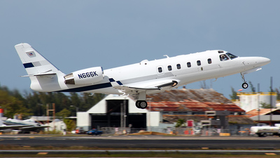A picture of N666K - Gulfstream G100 - [134] - © Hector Rivera - Puerto Rico Spotter