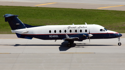 A picture of N240GL - Beech 1900D - Great Lakes Aviation - © Jeremy D. Dando