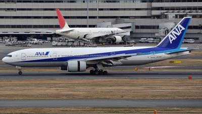 JA713A - Boeing 777-281 - All Nippon Airways (ANA)