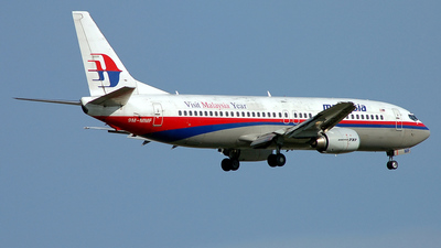 9M-MMF - Boeing 737-4H6 - Malaysia Airlines
