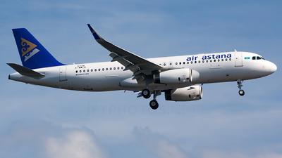 F-WWIG - Airbus A320-232 - Air Astana