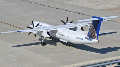 N208WQ - Bombardier Dash 8-Q402 - United Express (Colgan Air)