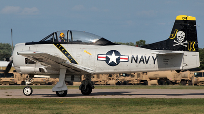 NX228JK - North American T-28B Trojan - Private