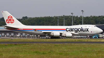 LX-FCV - Boeing 747-4R7F(SCD) - Cargolux Airlines International