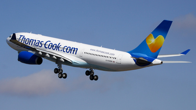 G-WWBM - Airbus A330-243 - Thomas Cook Airlines