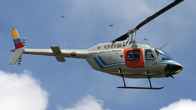 FAC4470 - Bell 206B JetRanger III - Colombia - Air Force