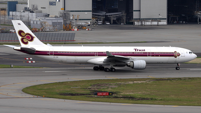 HS-TEM - Airbus A330-323 - Thai Airways International