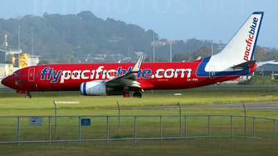 ZK-PBI - Boeing 737-8FE - Pacific Blue Airlines