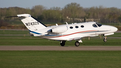 A picture of N24329 - Cessna 510 Citation Mustang - [5100020] - © Jeremy D. Dando