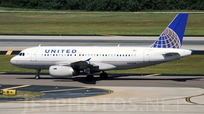 N821UA - Airbus A319-131 - United Airlines