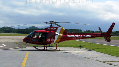PT-HLU - Helibrás AS-350B2 Esquilo - Brazil - Military Firefighters