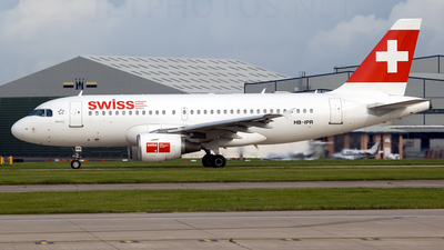 HB-IPR - Airbus A319-112 - Swiss