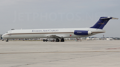 N73444 - McDonnell Douglas MD-82(SF) - Everts Air Cargo