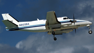 N805BA - Beechcraft A99 Airliner - Ameriflight