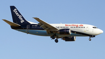 OY-MAE - Boeing 737-5L9 - Sterling Airlines