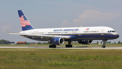 N754NA - Boeing 757-28A - North American Airlines