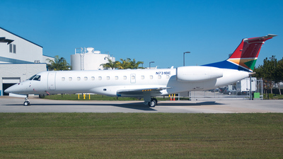 A picture of N731BE - Embraer ERJ135LR - [145356] - © Mark Lawrence