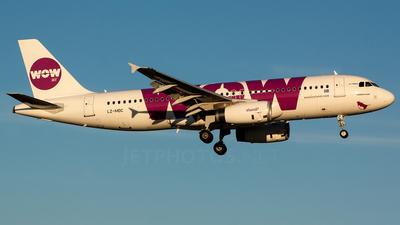 LZ-MDC - Airbus A320-232 - WOW Air (Air Via)
