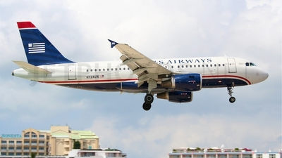 N724UW - Airbus A319-112 - US Airways