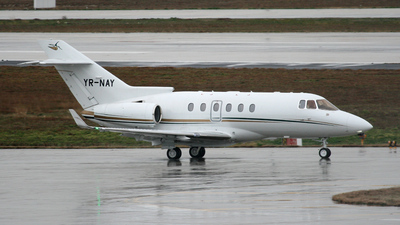 YR-NAY - Raytheon Hawker 900XP - Inter Aviation