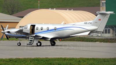 A picture of HBFVL - Pilatus PC12/47E - [1300] - © Mirko Bleuer