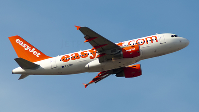 G-EZGN - Airbus A319-111 - easyJet