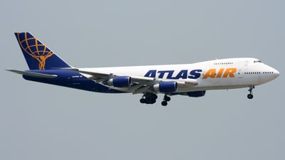 Boeing 747-243B(SF) - Atlas Air