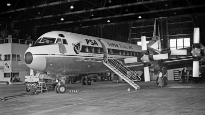 N376PS - Lockheed L-188C Electra - Pacific Southwest Airlines (PSA)