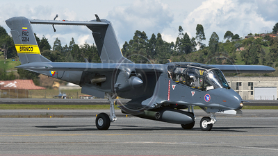 FAC2214 - North American OV-10A Bronco - Colombia - Air Force