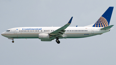 N76505 - Boeing 737-824 - Continental Airlines