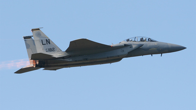 86-0182 - McDonnell Douglas F-15D Eagle - United States - US Air Force (USAF)