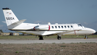 95-00124 - Cessna UC-35A Citation Ultra - United States - US Army