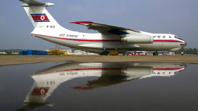 P-912 - Ilyushin IL-76MD - Air Koryo