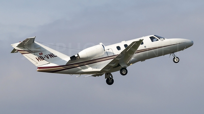 HB-VNL - Cessna 525 CitationJet 1 - Private