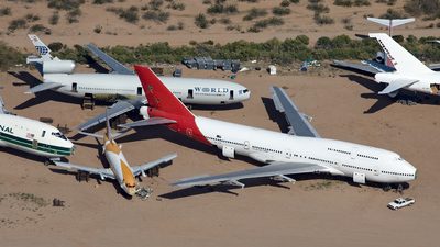 VH-OJR - Boeing 747-438 - Qantas