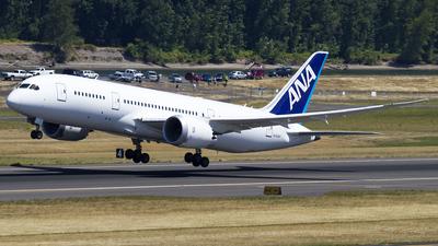 N1006F - Boeing 787-8 Dreamliner - All Nippon Airways (ANA)