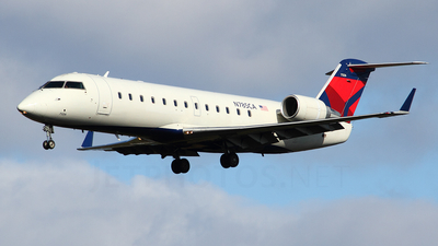 N785CA - Bombardier CRJ-100ER - Private