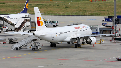EC-FGV - Airbus A320-211 - Iberia Express