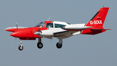 G-SOUL - Cessna 310R - Air Atlantique