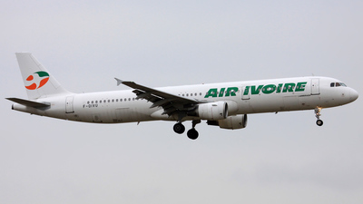 F-OIVU - Airbus A321-211 - Air Ivoire