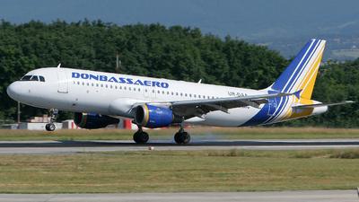 UR-DAA - Airbus A320-211 - Donbassaero